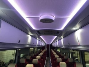 Far UV Disinfection in Buses